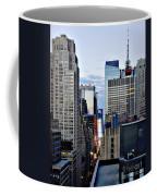 North Up Seventh Avenue Coffee Mug