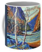 North West Lake By Prankearts Coffee Mug