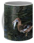 Northern Gannet Feeding Coffee Mug