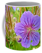 Northern Geranium By Transfiguration Of Our Lord Russian Orthodox Church In Ninilchik-ak Coffee Mug