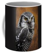 Northern Hawk Owl Coffee Mug