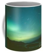 Northern Lights Over Bove Island Coffee Mug
