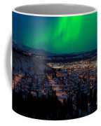 Northern Lights Over Whitehorse Coffee Mug