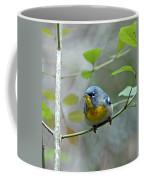 Northern Parula On Branch Coffee Mug