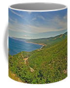 Northern Road Through Cape Breton Highlands Np-ns Coffee Mug