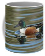 Northern Shoveler Drake Coffee Mug