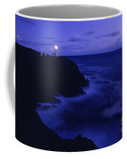 Northhead Ilwaco Lighthouse Washington Coastline Coffee Mug