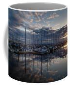 Northwest Marina Sunset Sunstar Coffee Mug