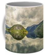 Norway Serenity In Panorama Coffee Mug