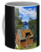 Norwegian Barn House Coffee Mug