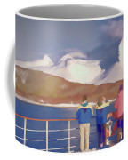 Painted Effect - Norwegian Coastline Coffee Mug by Susan Leonard