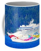 Norwegian Jewel Cruise Ship Coffee Mug
