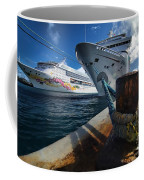 Norwegian Sky Carnival Sensation And Royal Caribbean Majesty Coffee Mug