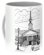 Norwich University White Chapel Coffee Mug