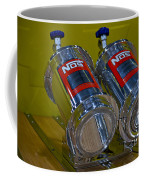 Nos Bottles In A Racing Truck Trunk Coffee Mug
