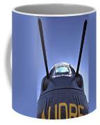 Nose Turret Of The B-24 J Coffee Mug