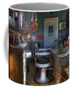 Nostalgia Barber Shop Coffee Mug by Bob Christopher