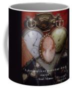 Nostalgia Quote Coffee Mug