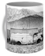 Not In Service Bw Palm Springs Coffee Mug