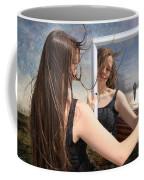 Not Pretty Enough Coffee Mug by Linda Lees