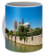 Notre Dame Cathedral And The Seine Coffee Mug