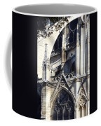 Notre Dame Cathedral Architectural Details Coffee Mug