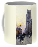 Notre Dame De Paris Coffee Mug by Eugene Galien-Laloue