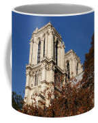 Notre-dame De Paris - French Gothic Elegance In The Heart Of Paris France Coffee Mug