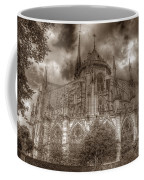 Notre Dame From East Garden Coffee Mug