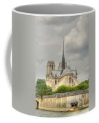Notre Dame From The Seine Coffee Mug