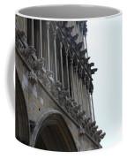 Notre Dame Gargoyle Row - Dijon Coffee Mug
