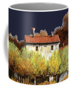 Notte In Campagna Coffee Mug by Guido Borelli