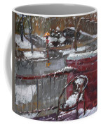 First Snowfall Nov 17 2014 Coffee Mug