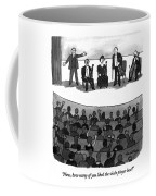 Now, How Many Of You Liked The Viola Player Best? Coffee Mug