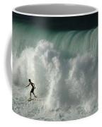Nowhere To Hide Nowhere To Swim Coffee Mug