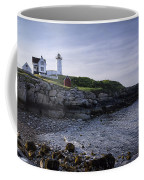 Nubble Dawn Coffee Mug by Joan Carroll