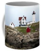 Nubble Lighthouse Cape Neddick Maine 4 Coffee Mug