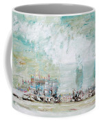 Nuclear Plant / Winter Season Coffee Mug