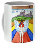 Nude Angel Road Coffee Mug