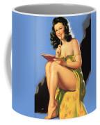 Nude Brunette II Coffee Mug