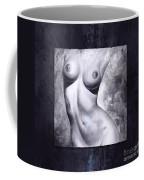 Nude Details - Digital Color Version Frame Blue Coffee Mug