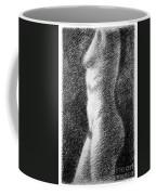 Nude Female Torso Drawings 6 Coffee Mug