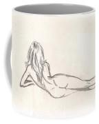Nude Figure Drawing Coffee Mug
