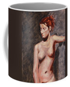 Nude French Woman Coffee Mug by Shelley Irish