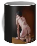 Nude Male Kneeling Coffee Mug