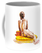 Nude Male Model Study Vi Coffee Mug