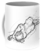 Nude Male Sketches 4 Coffee Mug