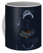 Nude On A Lilly Pad In Moonlight Coffee Mug
