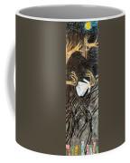 Nude Wedding Dress - Left Coffee Mug