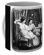 Nudes Having Tea, C1850 Coffee Mug